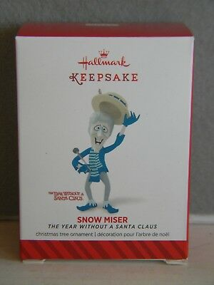 """Hallmark 2014 SNOW MISER """"THE YEAR WITHOUT SANTA CLAUS"""" ORNAMENT"""