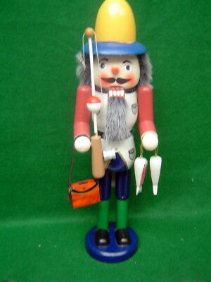 Christmas SALE Fisherman Nutcracker by Wonderland Traditions 15 inches
