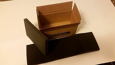 """Insulated Shipping Boxes 8''1/2x4''3/4x4''1/4. With 3/4"""" Foam packaging"""