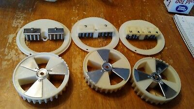 Lot Of 3 Northwestern Super 60 Candy Wheel Sets