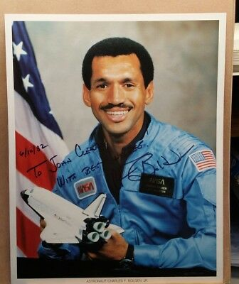 Nasa Astronaut Charles F. Bolden, Jr. Autographed Photo 8X10