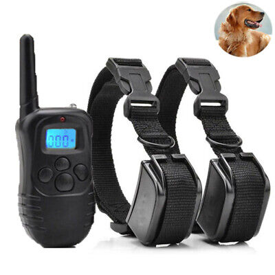 Waterproof Shock Collar for Large Pet Dog + Training Remote- 4 Mode Dog Training