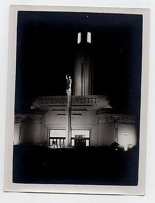 Vintage Lot of Nocturnal Art Deco Photos of Brussels 1935 Expo