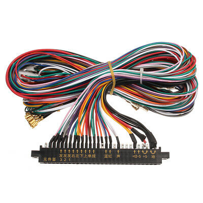 jamma connector wiring harness loom cable for arcade machine 56 pin rh picclick com wiring harness (loom) design wiring harness loom tips