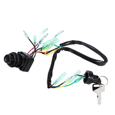 Ignition Main Switch & Key Assembly 703-82510-43-00 For Yamaha Outboard Motor DH