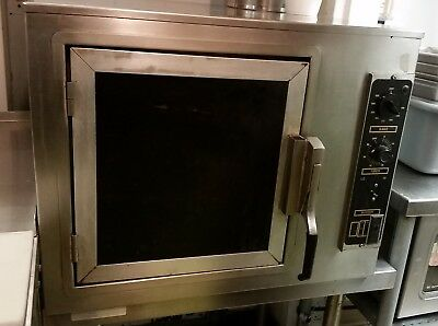 Nu Vu commercial convection oven 1/2 size 208 VAC single phase