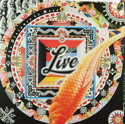 Live Distance To Here MOV audiophile 180gm black vinyl LP NEW/SEALED