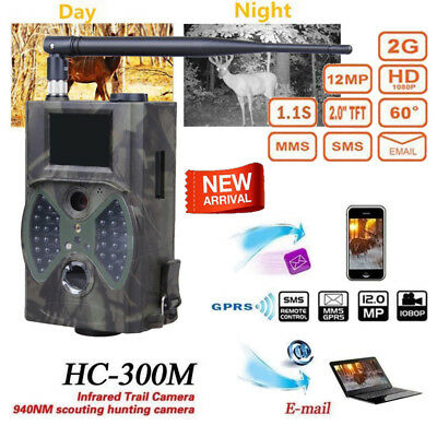 SunTek HC-300M 12MP GPRS HD 1080P Wildlife Infrared Night Hunting Trail Camera