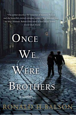 Once We Were Brothers by Ronald H Balson 9781250046390 (Paperback, 2013)