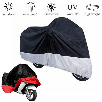 Waterproof Motorcycle Moped Cover Rain Anti-UV Dust Preventor Protector L/XL/XXL