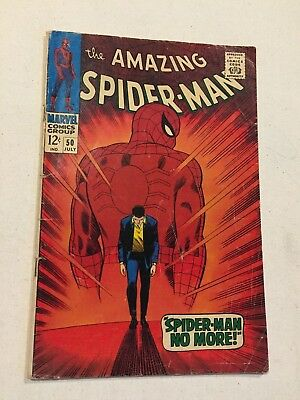 The Amazing Spider-Man #50 Vg 4.0 1St Appearance Of The Kingpin