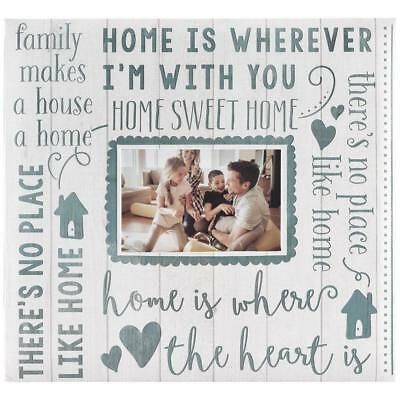 MBI Expressions Post Bound Album 12 x 12 inch Family home sweet home