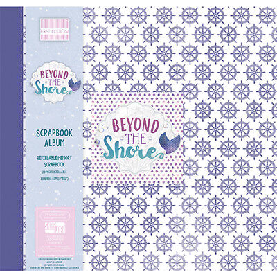 Scrapbooking Album Beyond the Shore whell 12x12 inch