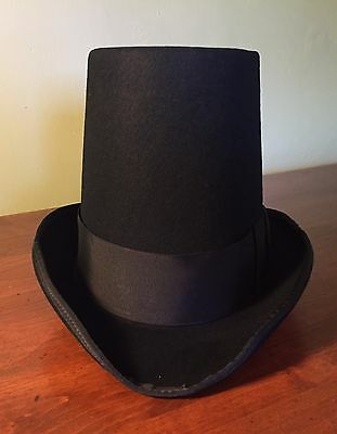 Regency Style Dress Empire Hat In Gray, Brown Or Black Made In USA
