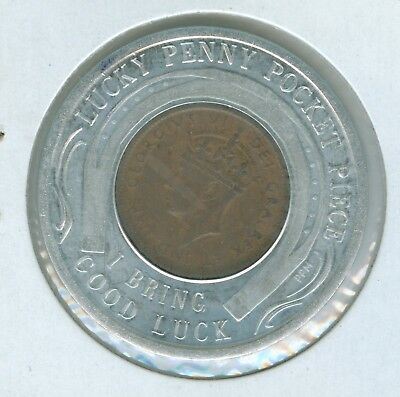 Encased By Hartman Tokens And Coins Of Beaver Falls, Pa. A 1943 Newfoundlan Cent
