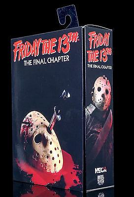 NECA - FRIDAY THE 13th - THE FINAL CHAPTER - ULTIMATE JASON VOORHEES - NEU/OVP