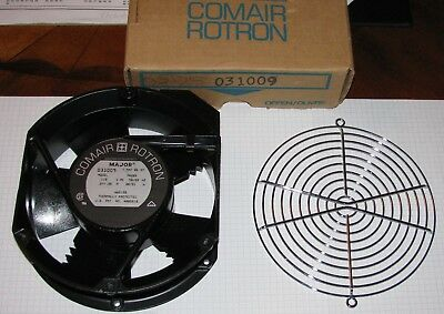 Comair/Rotron Model 031009 5-Blade 235CFM Fan/Grill Unused Surplus 115vac 30watt