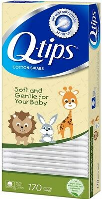 Q-tips Cotton Swabs For Babies 170 ea
