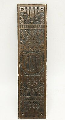 Antique Bronze Aesthetic Push Plate