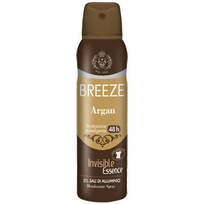Breeze Deodorante Spray Argan 48 H 150 Ml