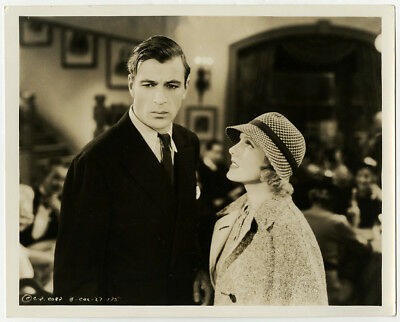 Gary Cooper & Jean Arthur in Mr. Deeds Goes to Town Vintage Photograph 1936