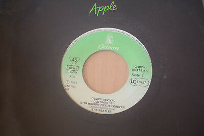 "The Beatles - Strawberry Fields Forever / Penny Lane 7"" SINGLE VG++ Odeon RAR"