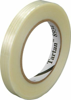 3M Tartan Reinforced Glass Filament strong Strapping Tape 12mm x 55m 8934 New