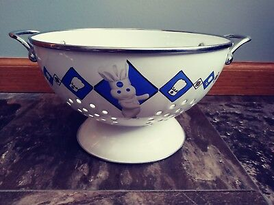 Vintage Pillsbury Doughboy Colander Bake-Off 1999  3 Qt. Collectable VGC