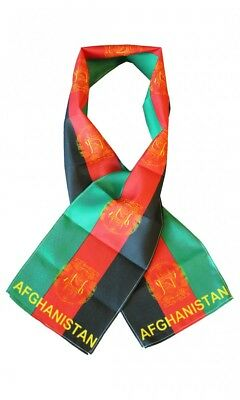 """Tanzania Country Lightweight Flag Printed Knitted Style Scarf 8/""""x60/"""""""