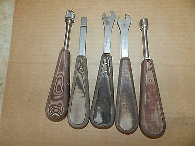 Lot of 5 ACE Surgical Hand Tools FF-10502 x2  FF-10511 FF-10504 FF-10507