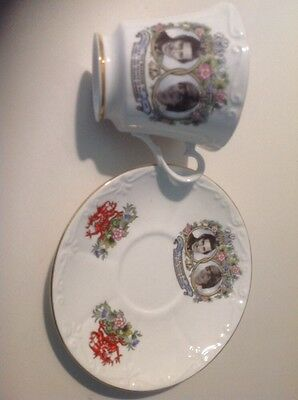 Prince Charles And Lady Diana cup & saucer 1981 wedding