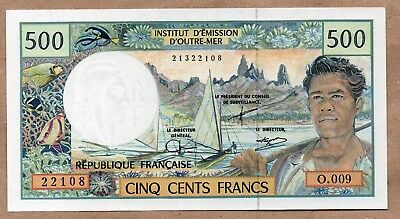 FRENCH PACIFIC TERRITORIES - 500 FRANCS - ND1992 - P1d - UNCIRCULATED