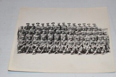 GROUP PHOTO Canadian Military/Army WWII 1940s - Quebec Canada