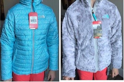 The North Face Mossbud Swirl REVERSIBLE Jacket - Girls' size L $110