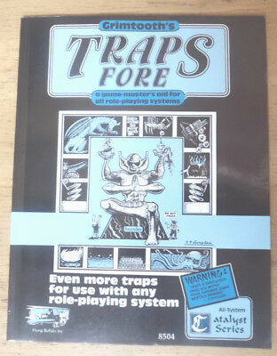 Grimtooth Traps Fore (4), Flying Buffalo Inc., Universal Role- Playaid
