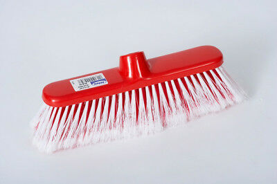 Abbey Red Soft Deluxe Broom 1