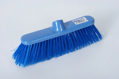 Abbey Blue Stiff Deluxe Broom 1