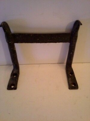Antique Blacksmith Hand Forged L Shaped Boot Scraper