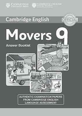 Movers 9, Answer Booklet  Cambridge English (Young Learners)