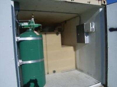 20'  Shipping Container w/ Water Tank & Pump Cabin,Tornado Shelter  Tiny House