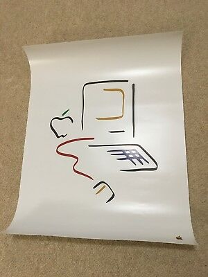 """Apple Macintosh Picasso Poster 1984 (18"""" x 24"""") - Excellent Condition"""