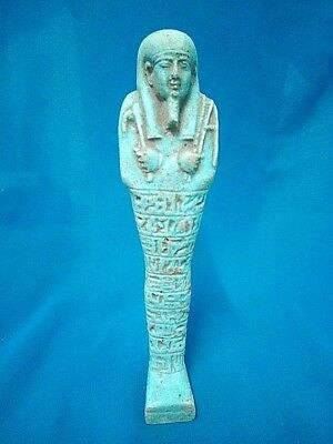 Rare Ancient Egyptian faience Ushabti ( 300-1000 BC)