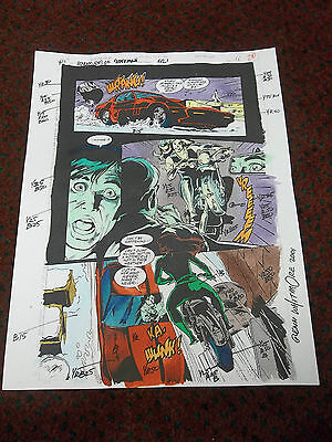 ADVENTURES OF SUPERMAN 521 SIGNED COLOR GUIDE Glenn Whitmore THORN