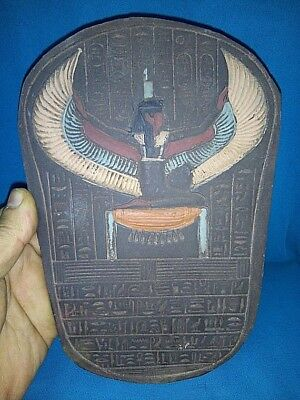 Rare Ancient Egyptian  Isis the god of the moon and his mother ( 300-1000 BC)