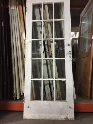 "French Door 79"" X 30"" 15 Light single door"