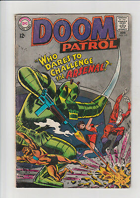 The Doom Patrol #113 (Aug 1967, DC) G
