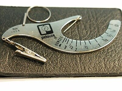 Vintage Pelouze First and Third Class Manual Postage Scale