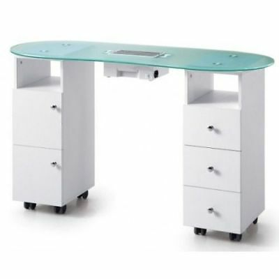 Professional Manicure Table with Dust Collector Fan Nail Manicure Spa Salon