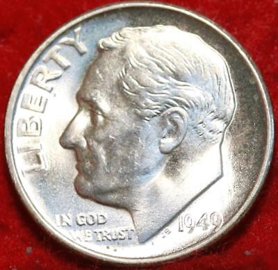 Uncirculated 1949-S San Francisco Mint Silver Roosevelt Dime