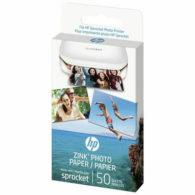 HP ZINK Sticky Backed Photo Paper 50 Pack
